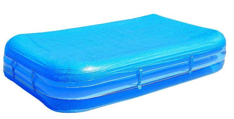 pool abdeckplane f r bis zu 305x183cm schwimmbecken mit be. Black Bedroom Furniture Sets. Home Design Ideas