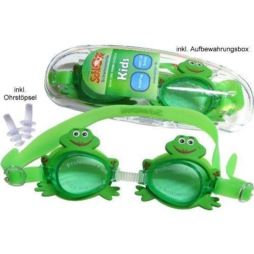 Schlori Schwimmbrille Frosch 100 Uv Schutz Antifog 10 90