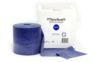 Thera-Band® 45,5m BLAU Extra Schwer Sparpack Theraband