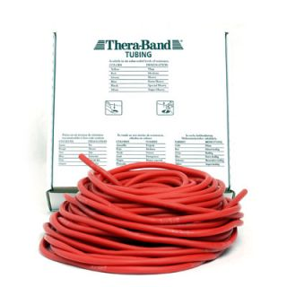Thera-Band® 30,50m Tubing Tubes ROT Mittel Schwach