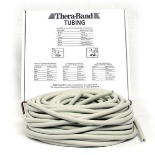 Thera-Band® 30,50m Tubing Tubes SILBER Super Schwer & Stark