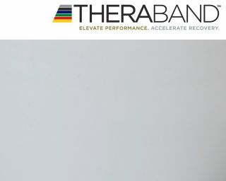 Thera-Band® 1,5m SILBER Super Schwer Gymnastikband THERABAND