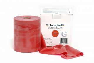 Thera-Band® 45,5m ROT Mittel Schwer Sparpack Theraband