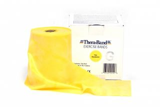 Thera-Band® 45,5m GELB Dünn Leicht Sparpack Theraband