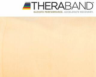 Thera-Band® 5,5m TRANSPARENT Super Dünn Extra Leicht Gymnastikband  THERABAND