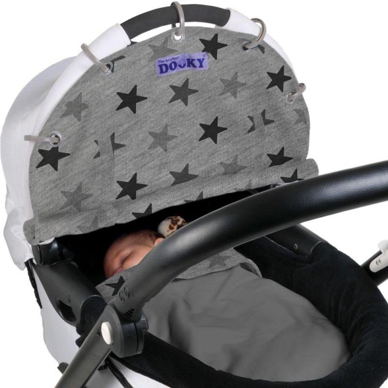 Dooky Sonnenschutz f/ür Kinderwagen Aqua