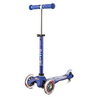 Mini Micro DELUXE blue Tretroller Kinder Scooter Blau