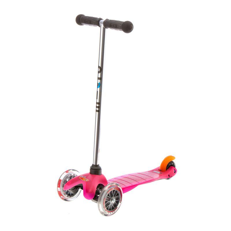 mini micro pink tretroller kinder scooter 74 90. Black Bedroom Furniture Sets. Home Design Ideas